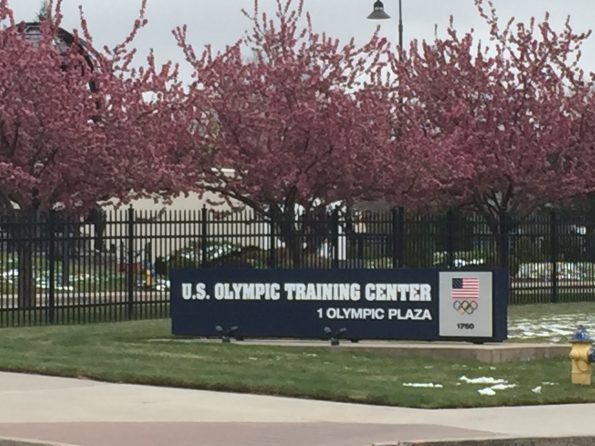 U.S. Olympic Training Center!