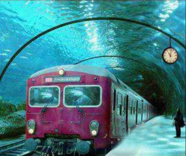 venice underground train