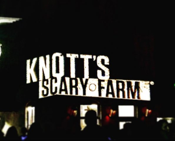 Entrance to Knott's Scary Farm