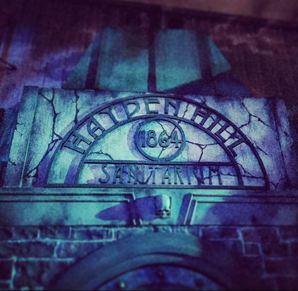 Entrance to Paranormal Inc. maze