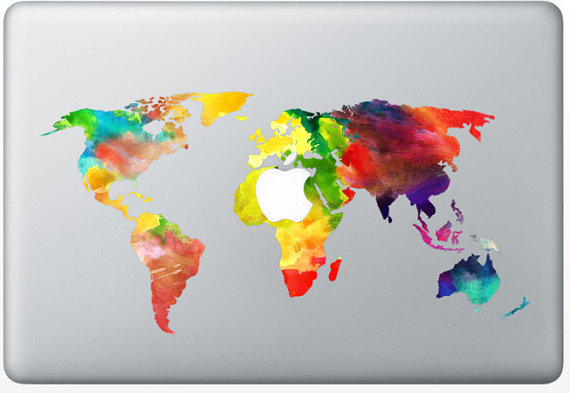 world-map-decal